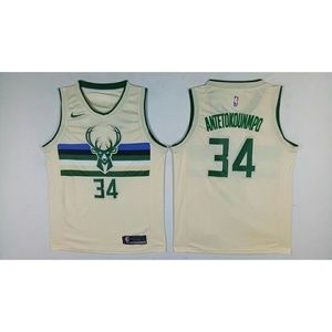 Milwaukee Bucks Giannis Antetokounmpo Jersey